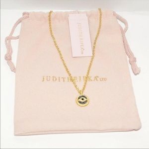 NWT Judith Ripka evil eye necklace